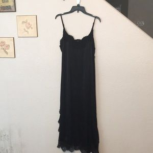Bardot Black Gown Size: US 10/L